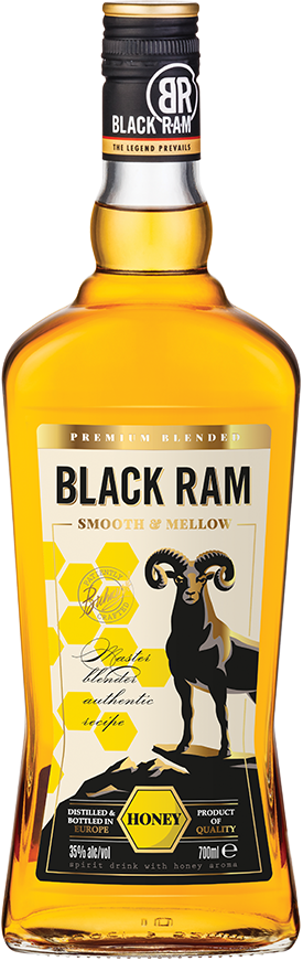 Black Ram Honey Label